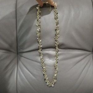 Banana Republic Shiny Bead Necklace Chain